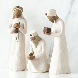 The Three Wisemen 26027 Willow Tree Figures NEW